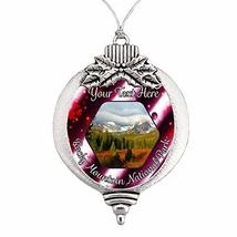 Holly Road Rocky Mountains National Park Christmas Ornament Snowman Snow... - $16.82