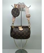 Multi Pochette Womens Cross Body Bag Shoulder Bag Messenger Crossbody Ba... - $150.00
