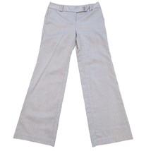 Ann Taylor LOFT Women's Original Brown Herringbone Print Dress Pants Sz 4 - $20.68 CAD