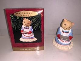 Hallmark Keepsake Ornament Mama Bearinger #2 In Series 1993 - £3.62 GBP