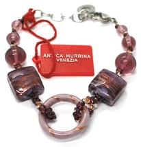 Bracelet Antica Murrina Venezia,BR567A05,Purple, Circle,Squares,Spheres image 1