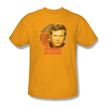 The Six Million Dollar Man Colonel Steve Austin Retro 70's graphic tee NBC526 image 1
