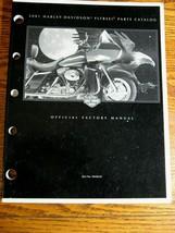 2001 Harley-Davidson FLTRSEI2 Road Glide Screamin' Eagle Parts Catalog Manual - $58.41