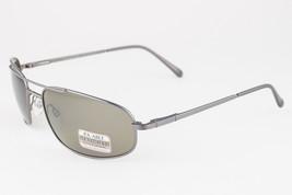 Serengeti Velocity Shiny Gunmetal / 555nm Green Polarized Sunglasses 7494 - $214.13