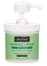 Bon Vital' Naturale Massage Crme, Professional Massage Therapy Cream with Natura - $17.99
