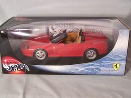 Ferrari 550 Barchetta Pininfarina 1:18 scale diecast Hot Wheels Mattel - $45.08