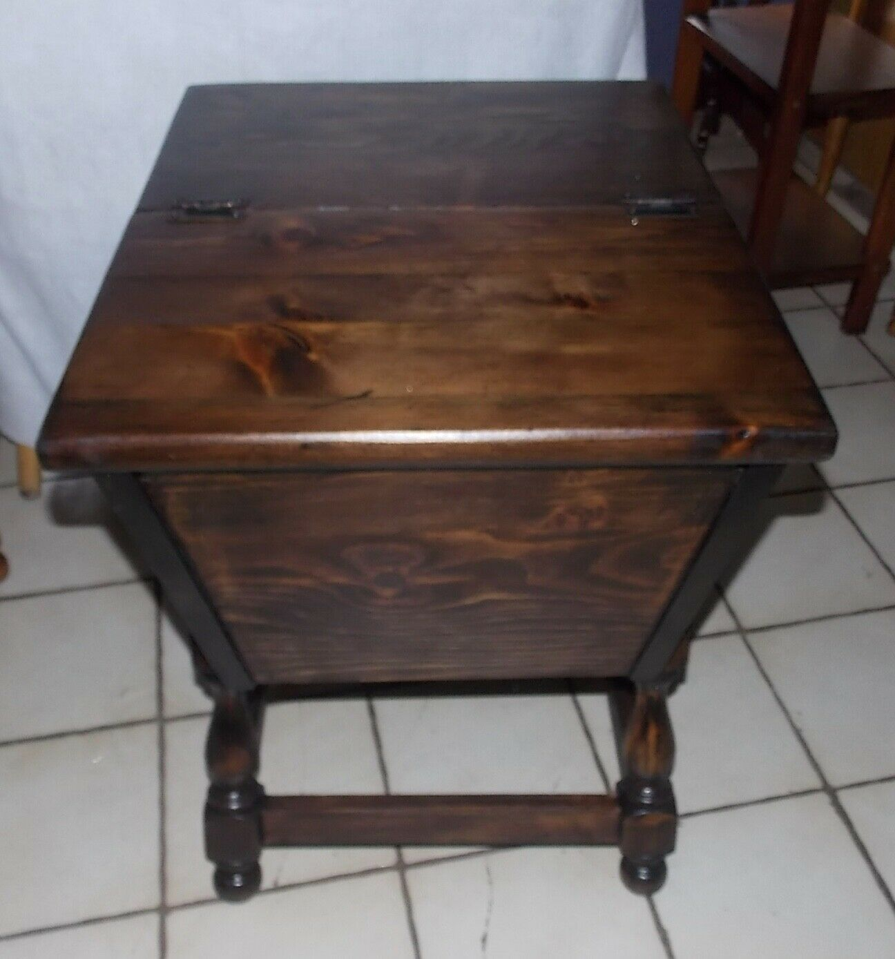 Excellent Pine Old Tavern Doughbox End Table Side And 50 Similar Items Gmtry Best Dining Table And Chair Ideas Images Gmtryco