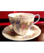 Royal Albert Tea Cup Saucer Blossom Time Series WISTERIA Bone China - $16.95