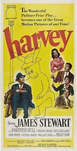Harvey movie poster 11x17