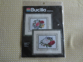Bucilla SET OF 2 CLASSIC FLORAL Embroidery SEALED Kit #40369 - Balangier... - $14.85