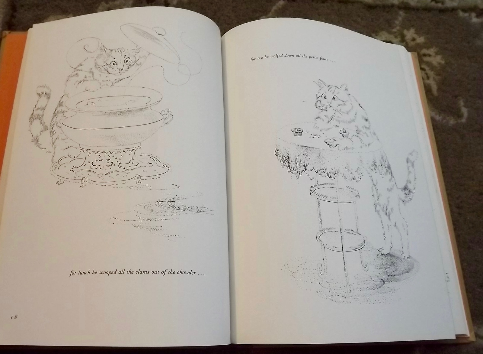 The Cat Who Tasted Cinnamon Toast by Ann Spencer 1968