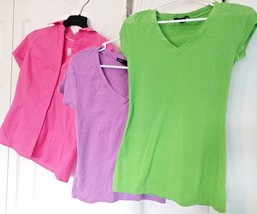 Lot of Womens RALPH LAUREN SPORT RIDERS LEE ZANANA OUTFITTERS SHIRTS Top... - $27.95
