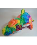 "NEW 16"" Flip A Zoo Rainbow Dolphin Pink Seal Stuffed Animal FLIPAZOO plu... - $14.95"