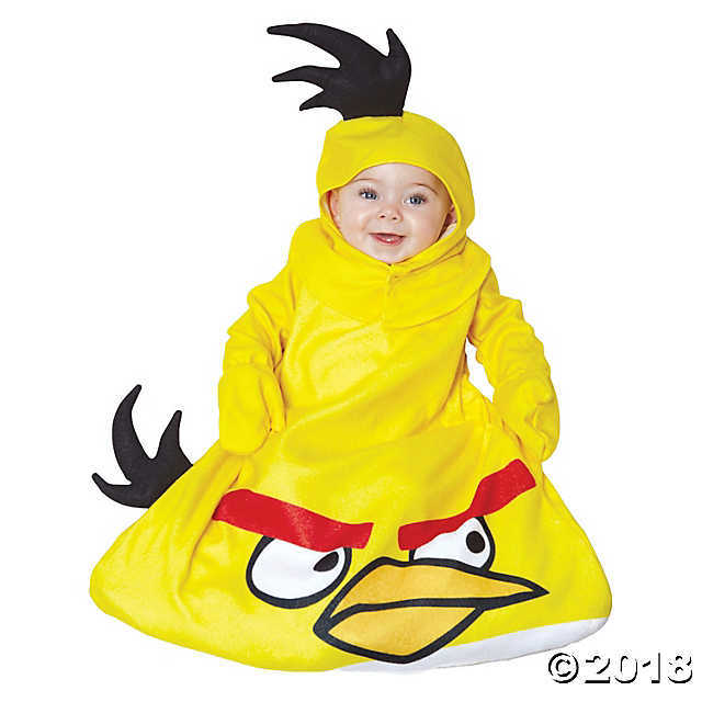 Paper Magic Yellow Angry Birds Infant Costume