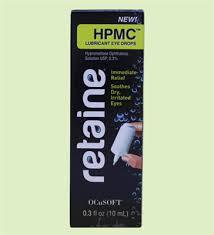 Retaine HPMC 0.3% 10ml eye drops