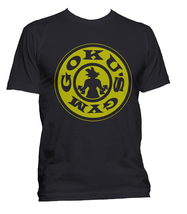Goku's Gym #1 Men Tee S-3XL Black T-shirt - $18.00