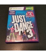 Just Dance 3 Xbox 360 Kinect Dancing Video Game complete - $3.47