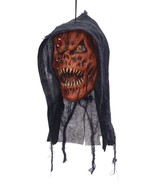 Hanging Head Pumpkin Reaper, Halloween Party Accessory Prop/Room Decoration - $17.66