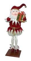 "Fantasy Creations 25"" Fantasy Gold Star Pant Christmas Elf Present on St - $73.00"