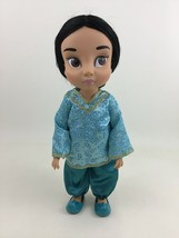 "Disney Princess Animators Jasmine 16"" Toddler Doll with Outfit Shoes 1st... - $34.70"