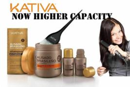 Kativa Keratina & Argan Oil Alisado Brasileño | Sin Formol Kit | Free Sh... - $35.23