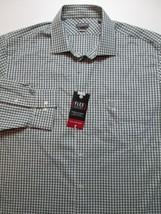 Van Heusen Flex Regular Fit Stretch Men Long Sleeve Shirt Size 17 1/2 XL... - $31.99