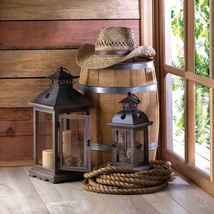 Monticello Candle Lantern Large - $39.95