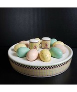 Debbie Mumm Sakura Spring Is In The Air Easter Egg Server with Salt and ... - $44.99