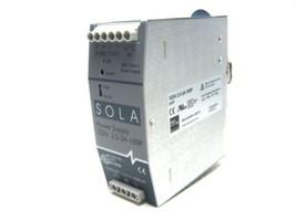 Sola SDN 2.5-24-100P Power Supply 115/230 Vac 24 Vdc - $34.64