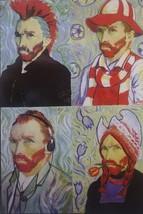 "Steve Kaufman 500 Piece Modern Van Gogh Puzzle 19"" X 13"" Inch - $27.71"