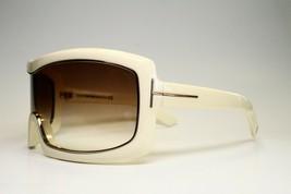 NEW AUTHENTIC TOM FORD OLGA TF305 25F WHITE EYEGLASSES FRAME TF 305 RX 5... - $475.20