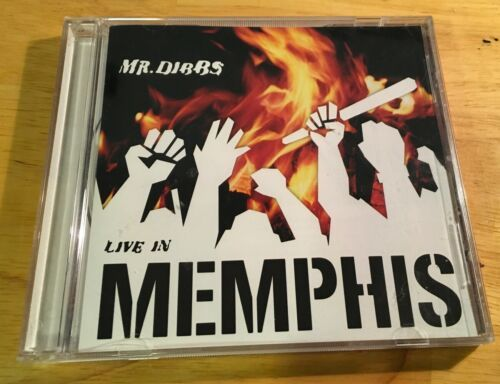 Primary image for Live in Memphis by Mr. Dibbs (CD, Oct-2000, Stereo-Type Records)