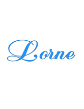 Lorne-Text-Digital ClipArt-Art Clip-Name-Gift Tag-Notebook-Scrapbook-banner - $5.00