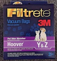 Hoover WindTunnel Type Y WindTunnel Vacuum Bag Y ( 3 Pack) 4010100Y Type Z Tempo - $5.15