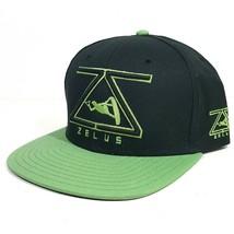 Zelus Ski Hat Snap back Trucker Black One Size - $8.41