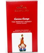 Hallmark  The Merriest Monkey  Curious George  Keepsake Ornament 2020 - $16.82