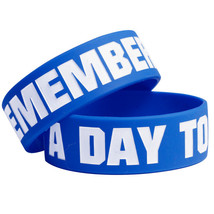 A Day To Remember (Blue Logo) Wristband - $6.00