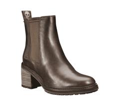 Women's Timberland Sienna High Chelsea Boot Dark Brown Full Grain Leather - £174.61 GBP