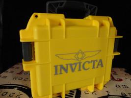 Invicta 3 Slot Impact Hard Dive Storage Collector Russian Diver Yellow Case! - $24.99