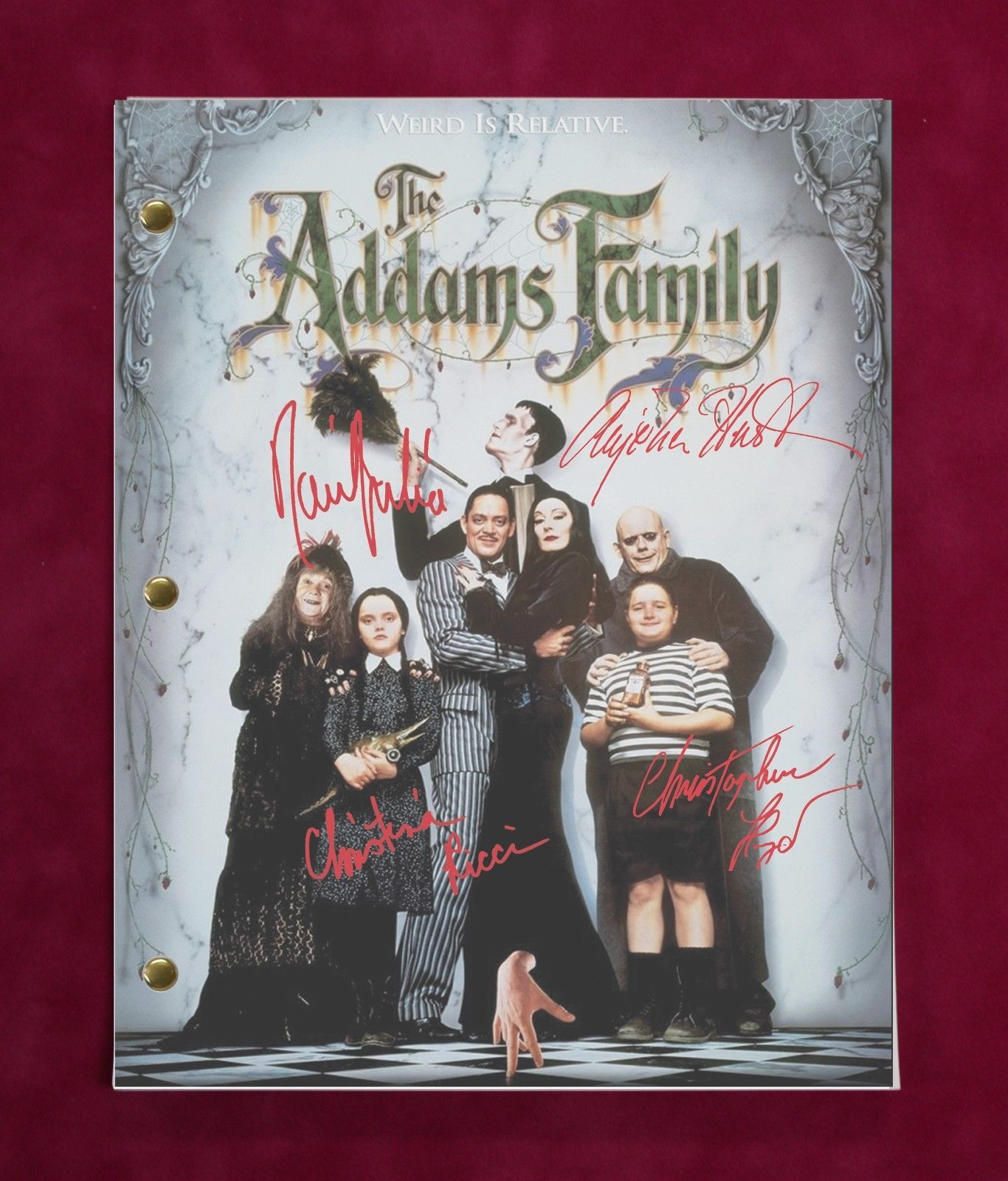 Addams Family Values Script With Repro. and 50 similar items