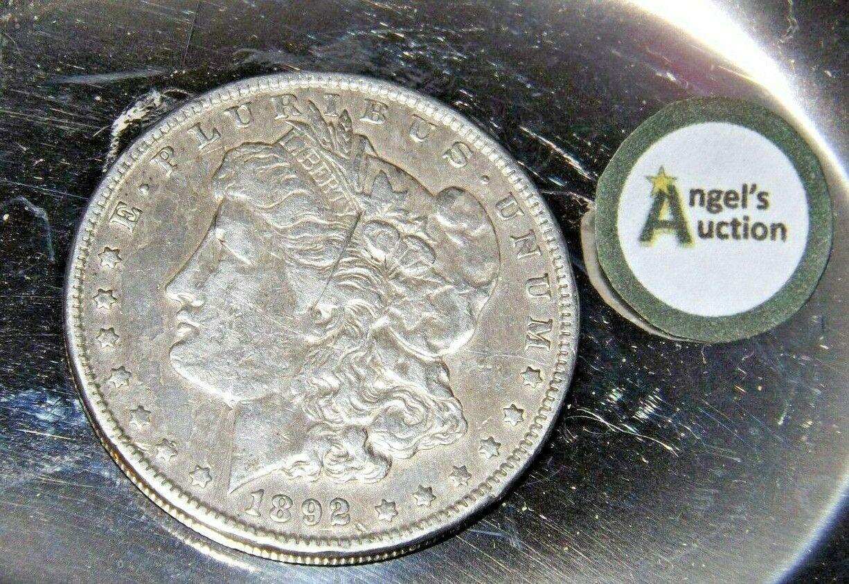 1892 P Morgan Silver Dollar AA19-CND6052