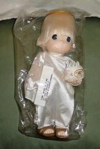Precious Moments1999 Timmy Angel Chapel 10th Anniversary Doll w/Cake New... - $30.00
