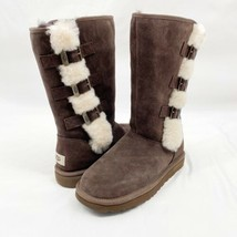 Ugg Klea 1111452 Chocolate Women's Tall Boots Size 7 Authentic, Brand New. - $145.12