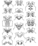 Suitability 6360 Scrolls and Other Appliques Equestrian Sewing Pattern - $10.00