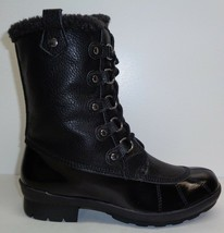 Aerosoles Size 6 M BARRICADE Black Combo 820 Memory Foam Boots New Women... - $117.81