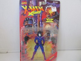 Toy Biz 49537 Marvel X-MEN X-FORCE Domino Action Figure Carded New L79 - $5.59