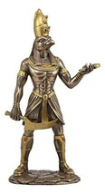 Ebros Egyptian Mythology Horus With Pschent Double Crown Of Egypt Statue God of  - $39.99