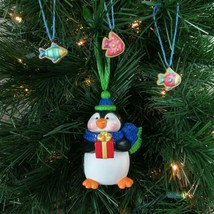 Penguin Fish Cookie Jar Hallmark Ornament Sweet Tooth Treats 2005 - $36.62