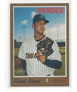 ALERT ABREU  2019 TOPPS HERITAGE MINOR LEAGUE #174 - GOLD PARALLEL #ed 0... - $49.99
