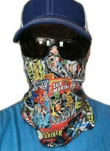 Sub-Mariner Face Covering neck gaiter buff sun protection quick dry UPF +50